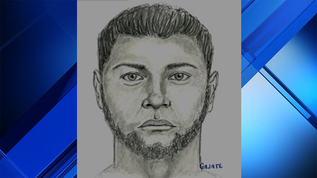 Miami police release sketch of man wanted in connection with sexual battery