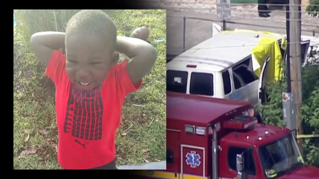 Driver arrested after toddler found dead in day care van