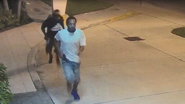 Surveillance video shows 2 men fleeing scene after fatally shooting homeless man
