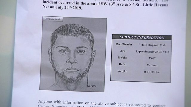 Miami police distribute flyers in hopes of finding Little Havana rapist