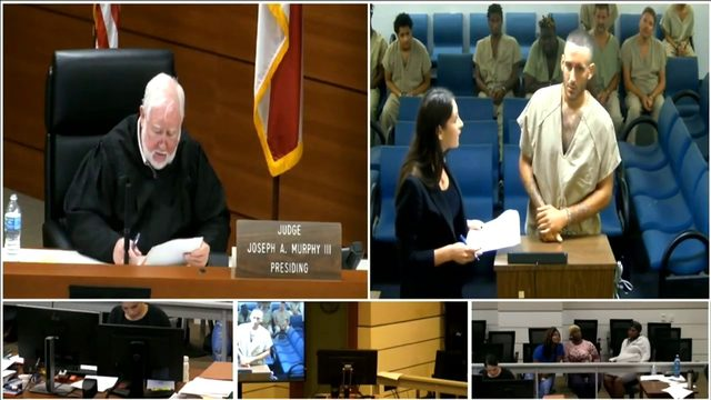 Accused bank robber appears in Broward court