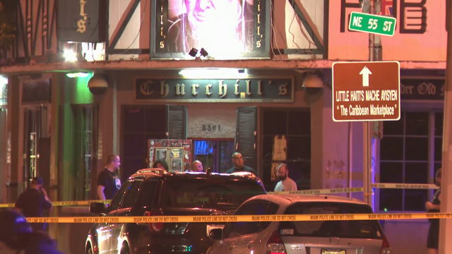 Man dead, another wounded in shooting near Churchill's Pub