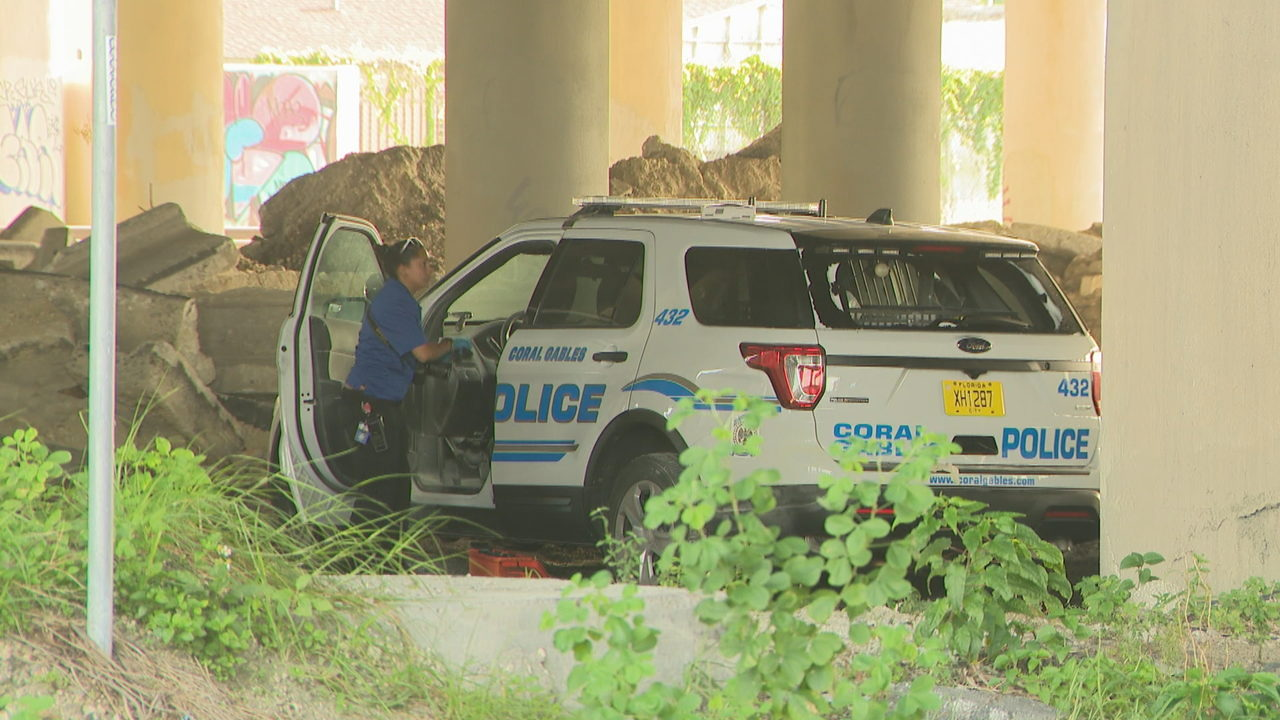 Coral Gables police cruiser stolen from officer's home, found