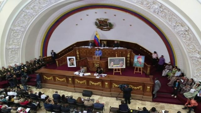 Venezuela starts process to strip opposition lawmakers of immunity