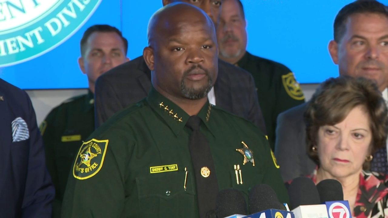 Sheriff Gregory Tony Working To Make Bso As Prepared As Pos
