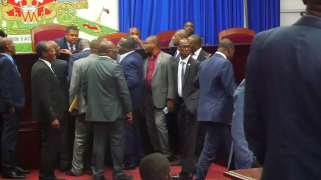 Impeachment hearing for Haitian president postponed over security concerns