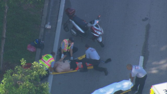 Motorist injured during police pursuit on Biscayne Boulevard