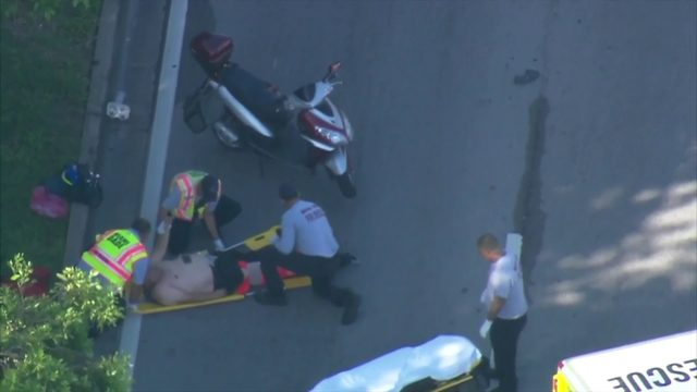 Pursuit of stolen car leads to hit-and-run crash on Biscayne Boulevard