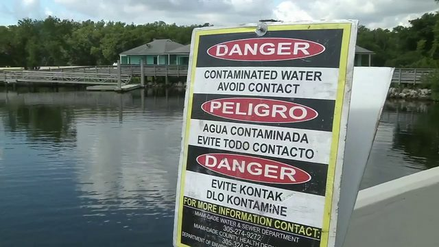 Sewage spill prompts swimming advisory at Oleta River State Park