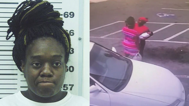 Woman charged in baby's death during fight
