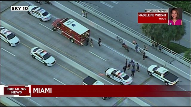 1 person shot on Rickenbacker Causeway