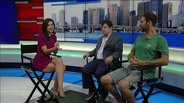 Local 10 sits down with South Florida actor starring in 'Peanut Butter Falcon'