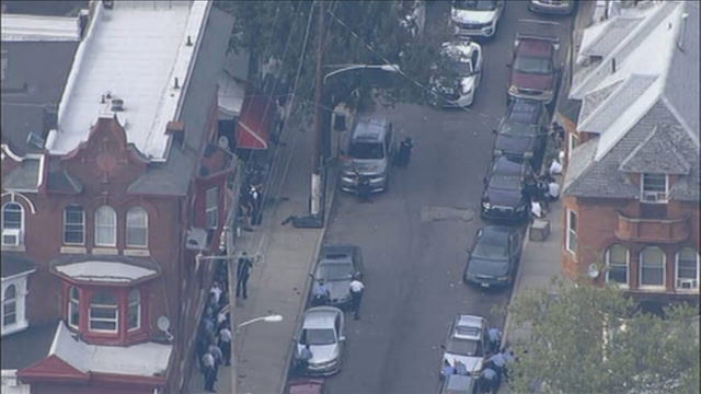 Multiple officers injured by suspect firing in ongoing shooting in Philadelphia