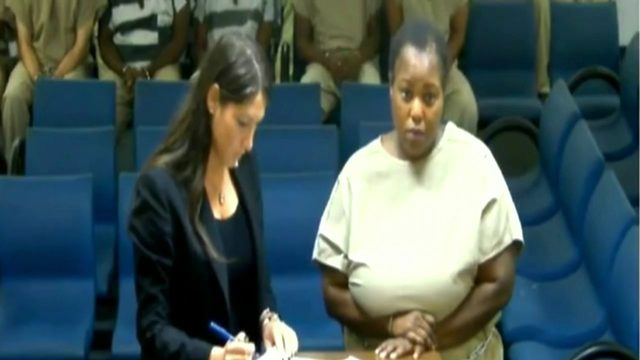 Woman held without bond after being accused of beating daughter