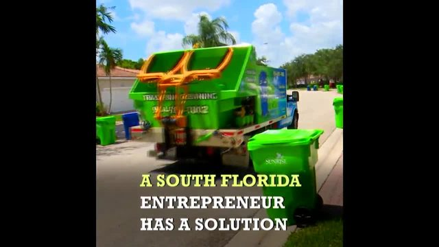 South Florida high school student's new business is pure garbage