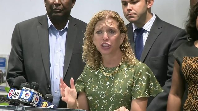 US Rep. Debbie Wasserman Schultz on recent gun violence