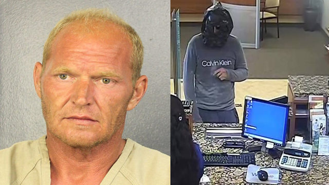 Man, 40, arrested in connection with Wilton Manors bank robbery