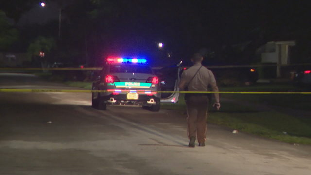 Police investigate shooting on Southwest 94th Court