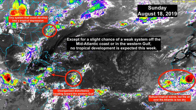 Tropical depression may form near North Carolina Coast
