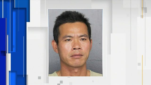 Man arrested after shooting at nail salon in Broward