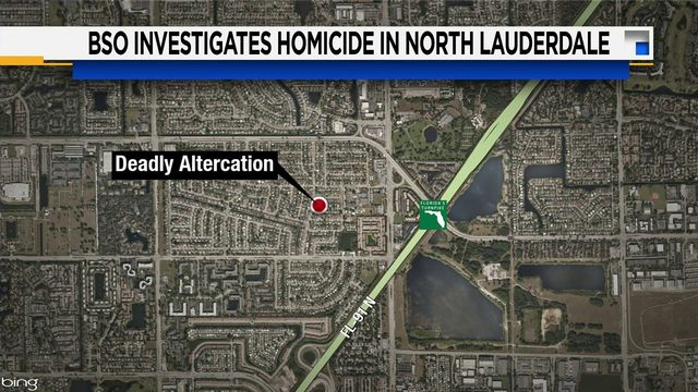 Fight outside North Lauderdale home leaves 1 man dead