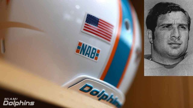 Dolphins to honor Nick Buoniconti with special helmet sticker during 2019 season