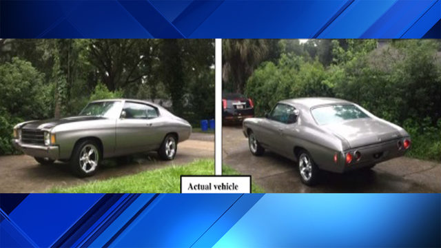 Police searching for classic Chevy Chavelle stolen from Pembroke Pines…