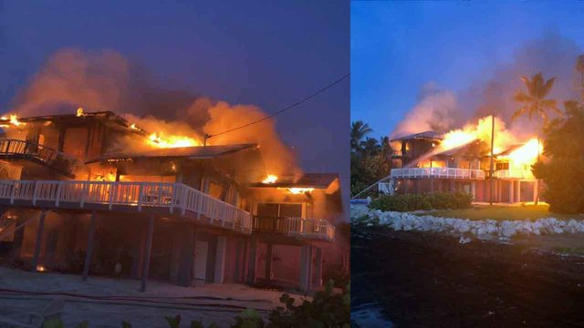 Fire destroys Islamorada home
