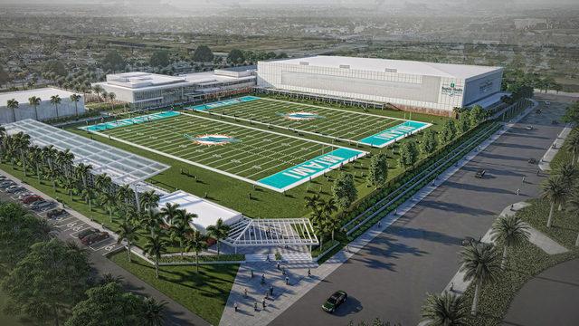 WATCH LIVE: Miami Dolphins break ground on new training complex