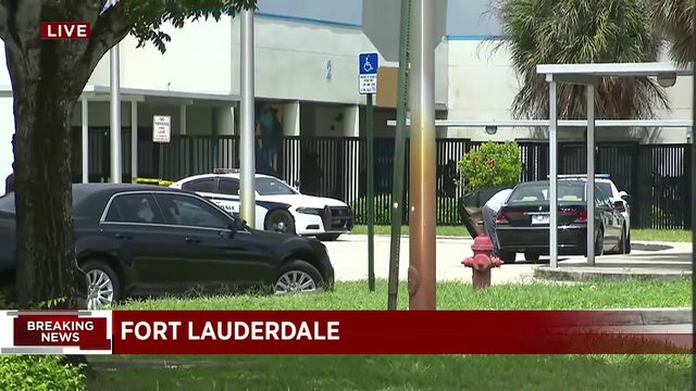 Fort Lauderdale high school placed on lockdown