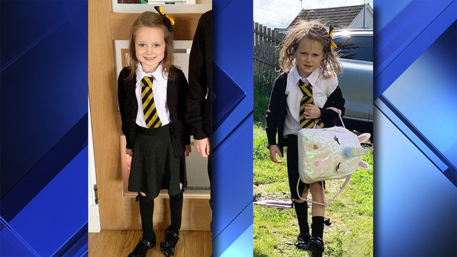 5-year-old's hilarious after-school picture is going viral