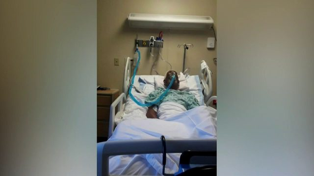 Police search for person who beat elderly man