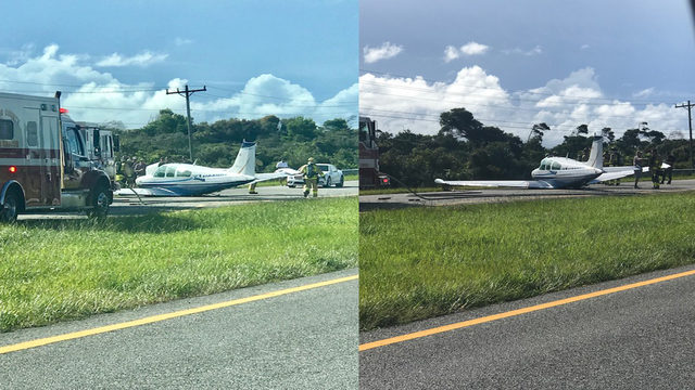 Small plane makes emergency landing in Martin County