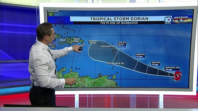 Puerto Rico needs to watch Tropical Storm Dorian, meteorologists say
