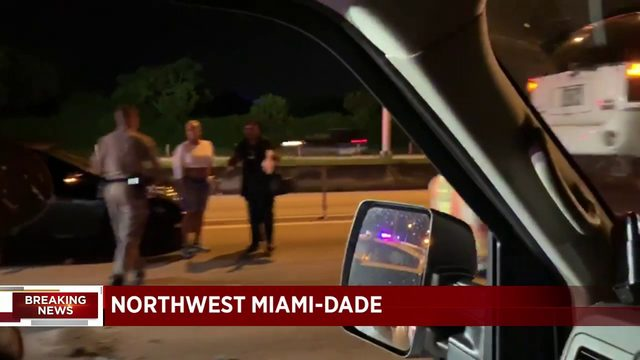 FHP troopers investigate hit-and-run crash on I-95 SB in NW Miami-Dade