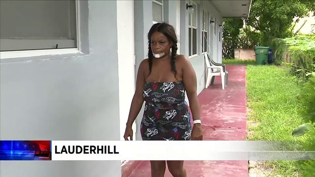 Gunman shoots woman in North Lauderhill