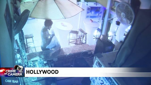 Surveillance video shows Hollywood crooks at hotel lounge
