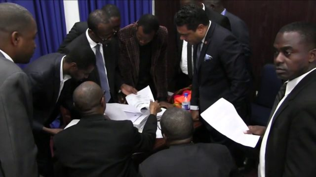 Lawmakers refuse to impeach Haiti's president citing lack of evidence