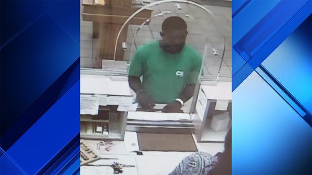 Man caught on camera robbing bank in Miami
