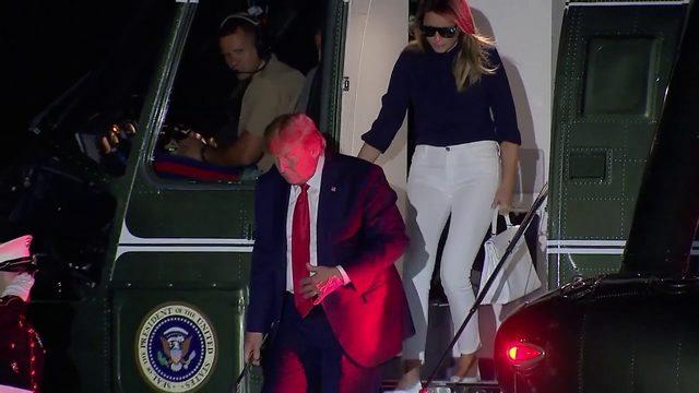 President Trump returns to Washington DC following busy G7 Summit