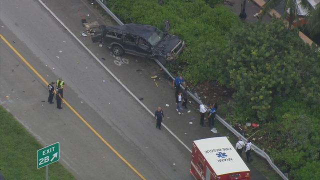 Crash on Julia Tuttle Expressway shuts down westbound off-ramp to…