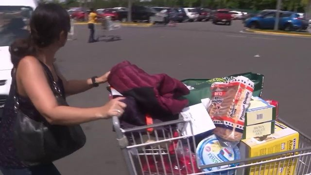 Puerto Ricans stock up on supplies as Tropical Storm Dorian moves toward island