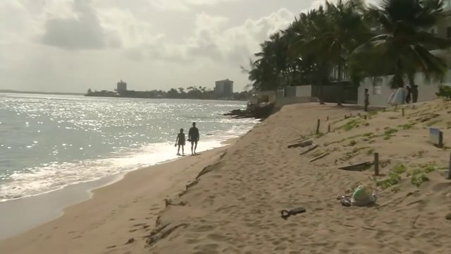Tourists, residents in Puerto Rico experience calm before Tropical Storm Dorian