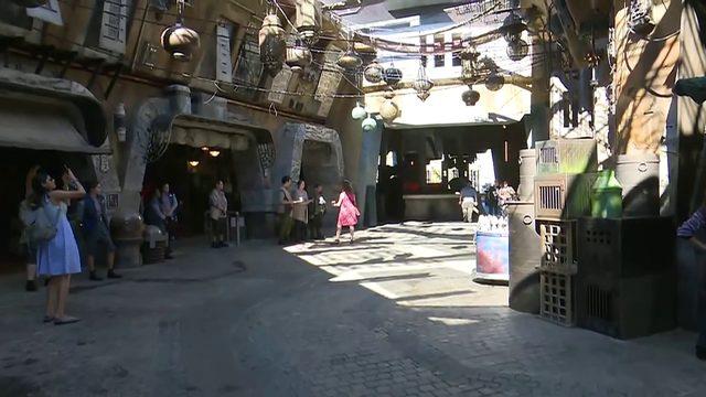Local 10's Jenise Fernandez gets sneak peak of Disney's new Star Wars attraction