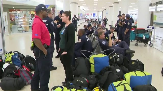 Miami-Dade firefighters head to Puerto Rico ahead of Tropical Storm Dorian