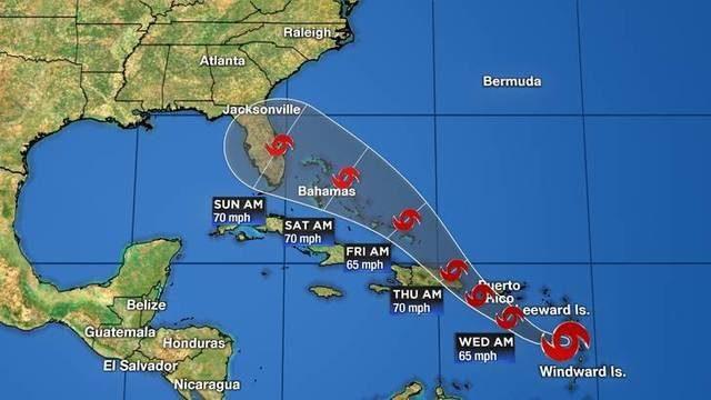 Haitians fear possibility of Tropical Storm Dorian impact