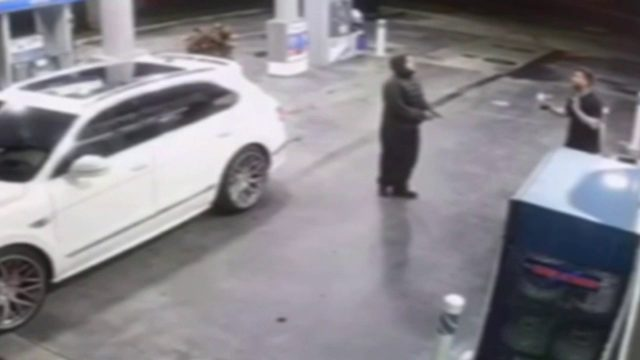 Armed carjacker caught on camera stealing Bentley SUV in Miami-Dade County