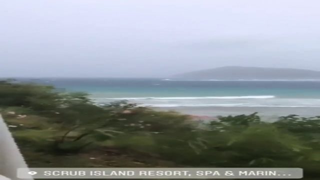 Dorian impacts British Virgin Islands