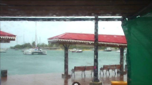 Dorian update: Rainy day at St. Croix