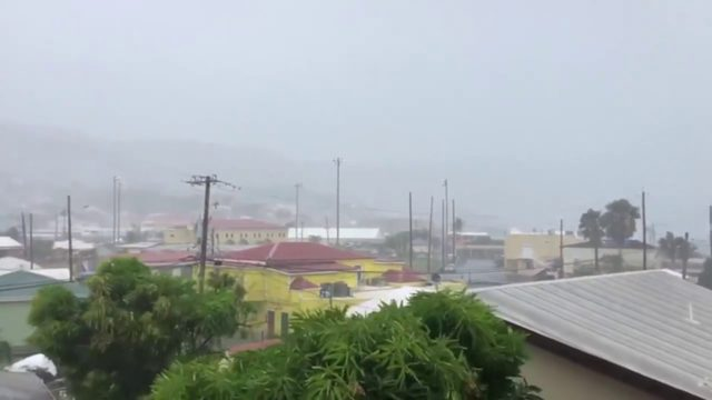 Dorian updates: Gray skies over St. Thomas